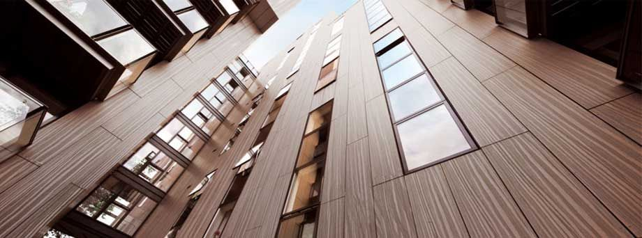High Pressure Laminate Cladding