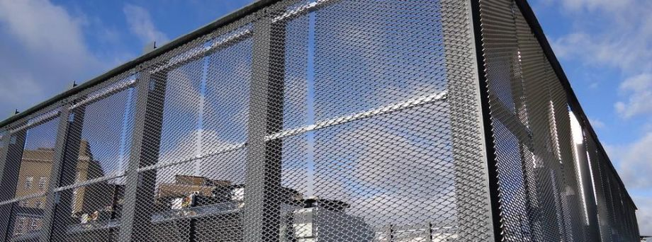 Architectural Mesh Plant Screens