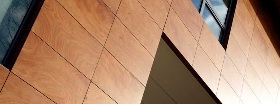 Natural Wood Veneer Cladding